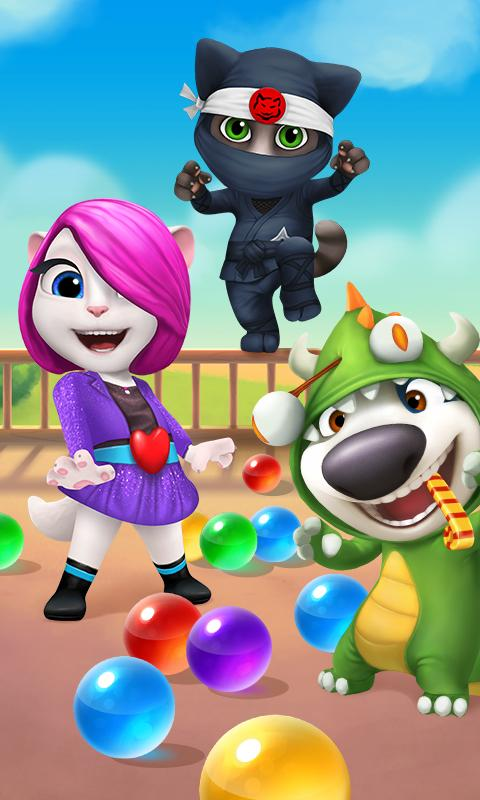 Talking Tom Bubble Shooter 1