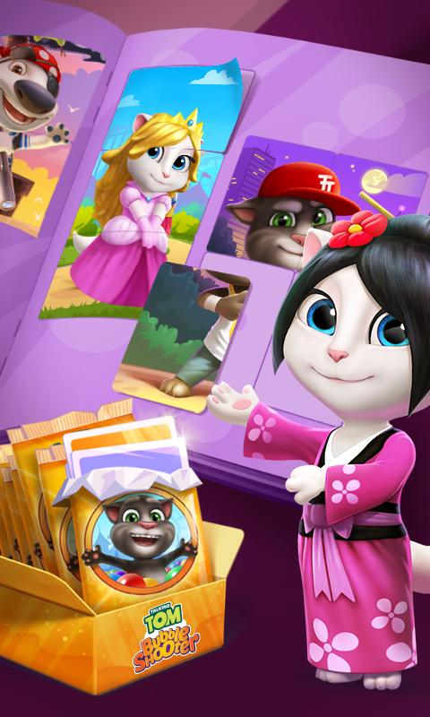 Talking Tom Bubble Shooter 4