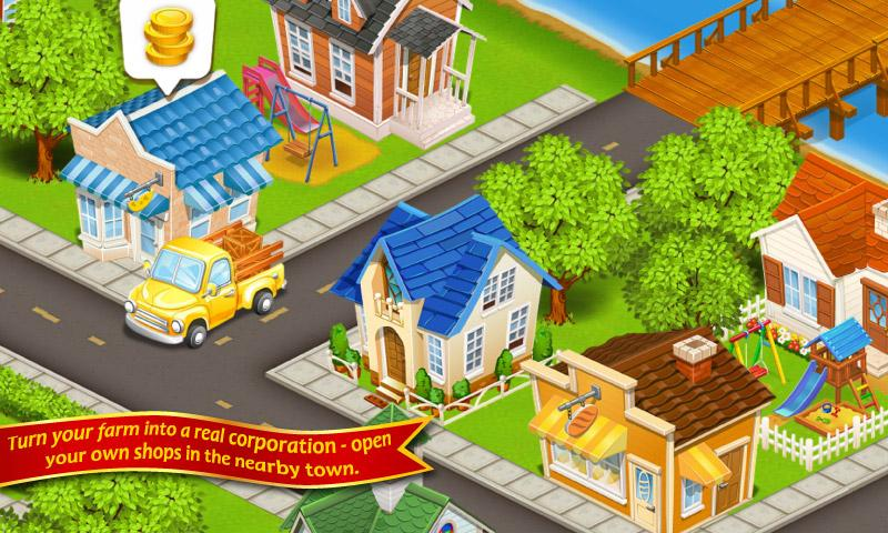 Farm Town Happy City Day Story 3