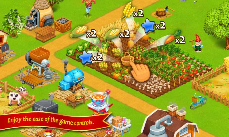 Farm Town Happy City Day Story 4