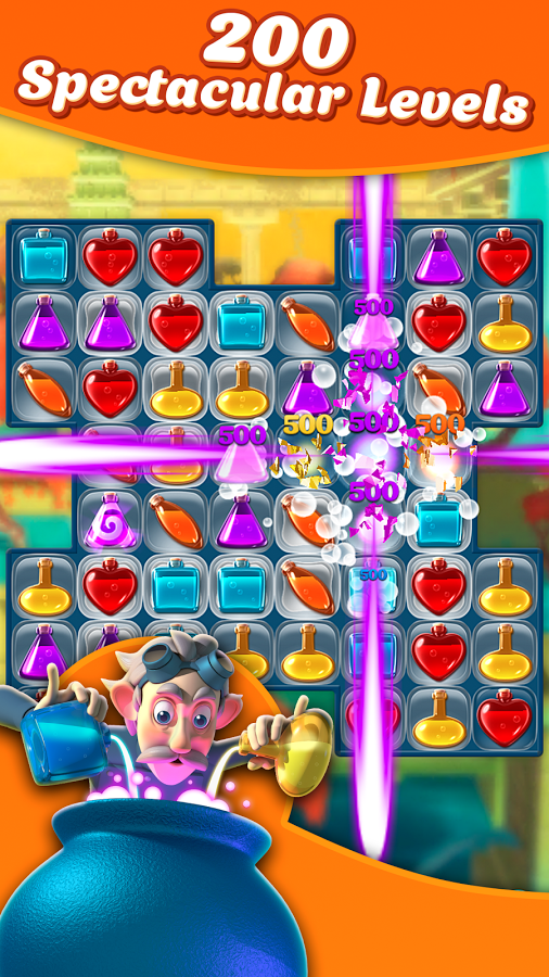 Potion Pop - Puzzle Match 4