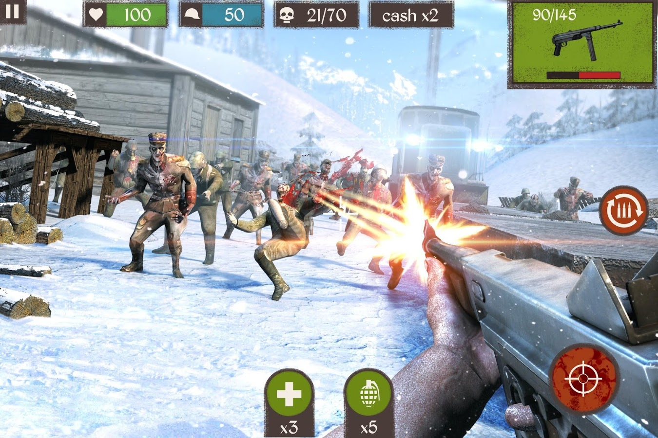 Zombie Call Dead Shooter FPS 2
