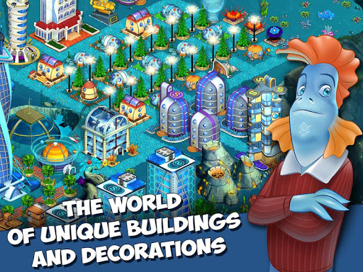 Aquapolis - Build a megapolis