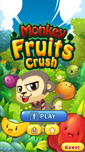 Monkey Fruits Crush