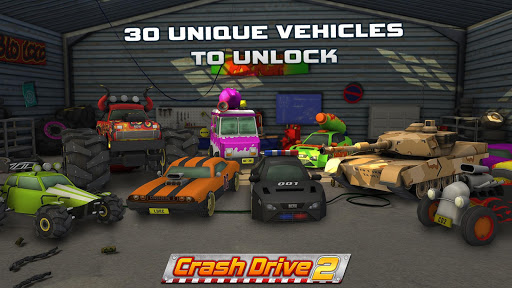 Crash Drive 2: car simulator