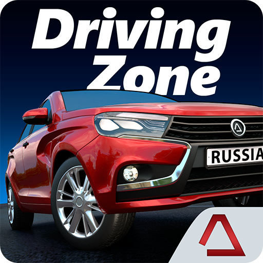 Driving Zone: Russia APK v1.302 (Unlimited Money) logo