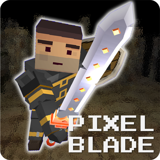 Pixel F Blade – 3D Fantasy rpg v8.8.3 Mod Apk Free Shopping Money logo