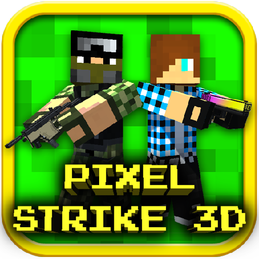 Pixel Strike 3D v8.7.1 Mod Apk Money logo