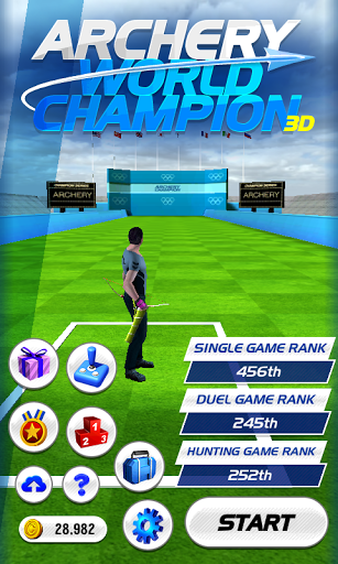 Archery World Champion 3D