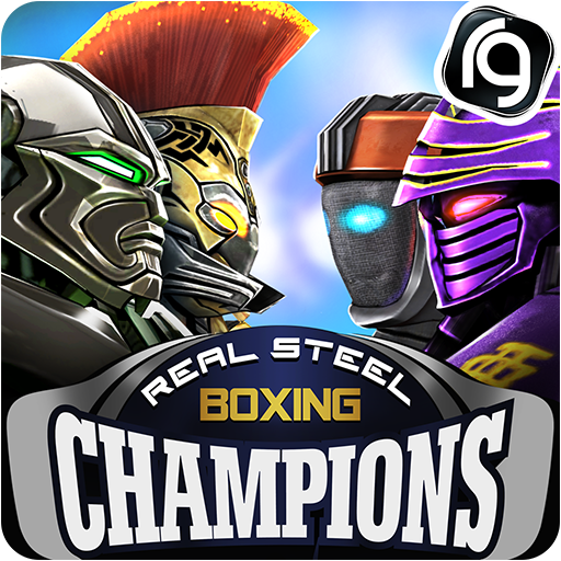 Real Steel Boxing Champions v2.5.148 (Mod Apk Money) logo