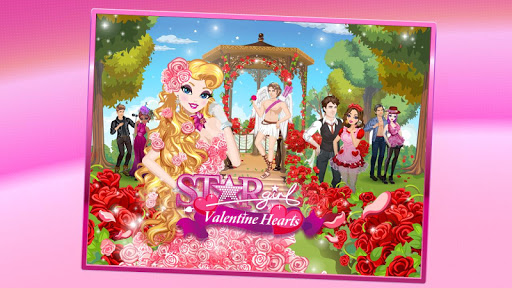 Star Girl: Valentine Hearts