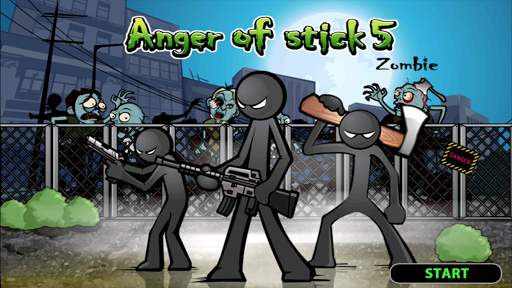 Anger of Stick 5
