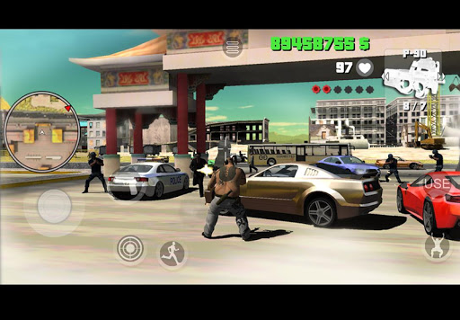 Yakuza Mad City Crime