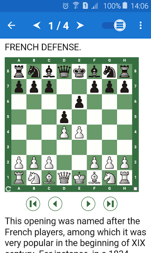 Chess Tactics in French Def