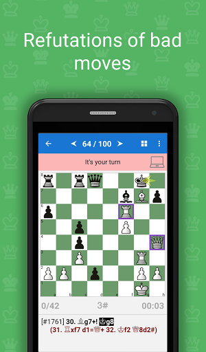 Mate in 3-4 (Chess Puzzles)