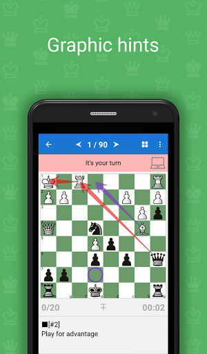 Mate Escape. Chess Puzzles