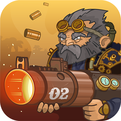 Steampunk Defense v20.32.487 Mod Apk Money logo