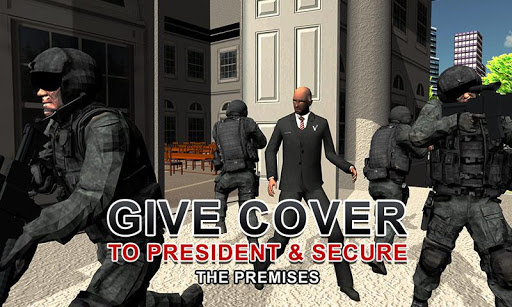 Army Shooter: President Rescue