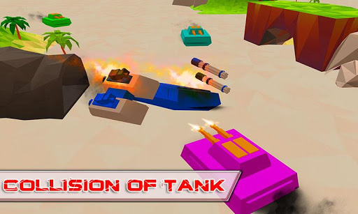 Blocky Tanks Force