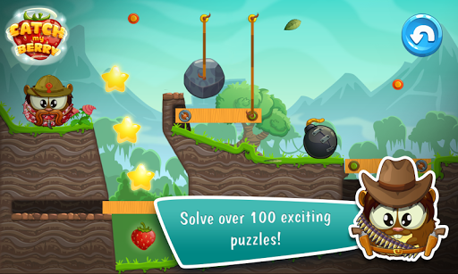 Catch My Berry: Physics Puzzle