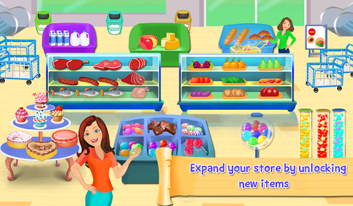 Supermarket Cash Register Sim