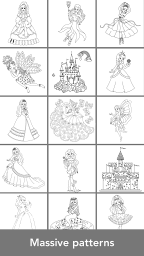 Princess coloring game v1.4.4 Mod Apk (Unlocked) | ApkDlMod