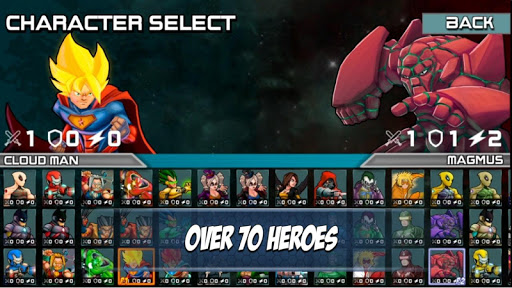 Superheros 3 Fighting Games v1.4.1 (Mod Apk Money) - ApkDlMod