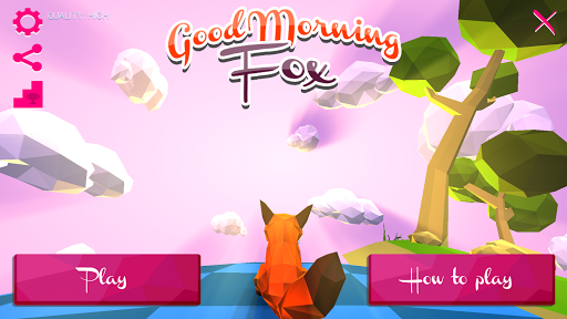 Good Morning Fox : runner game