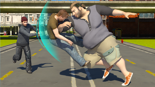 Hunk Big Man 3D: Fighting Game