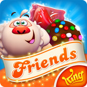 Candy Crush Friends Saga v1.46.2 Mod Apk logo