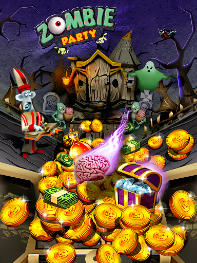 Zombie Ghosts Coin Party Dozer
