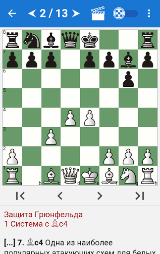 Chess Tactics in Grünfeld Def