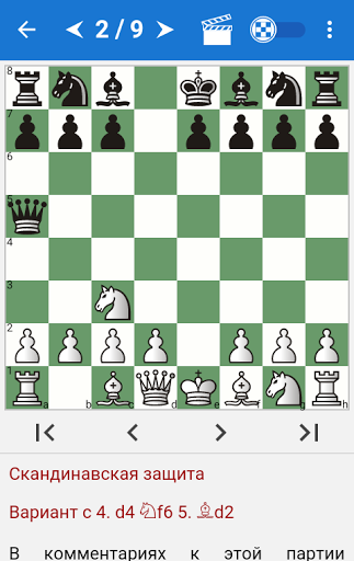Chess Tactics in Scandinavian