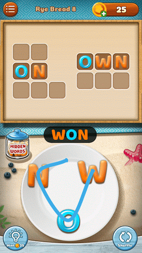 Word Puzzle - Cookies Jumble