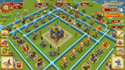 Dragon Lords 3D strategy