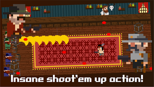 Tiny Wild West - Endless 8-bit pixel bullet hell