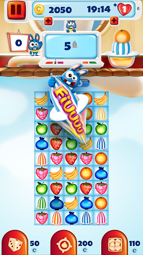 Fruit Pop Match 3 Puzzle Games