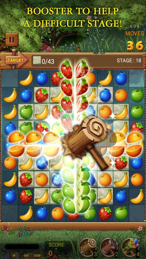 Fruits Forest : Rainbow Apple