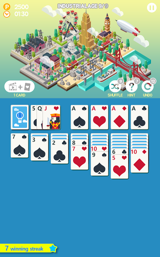 Age of solitaire : City Building Card game