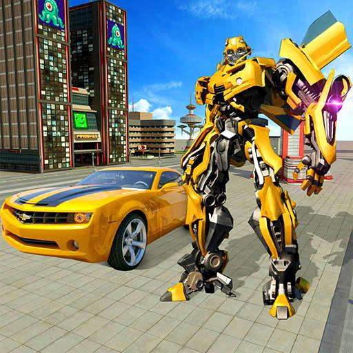 Real Robot Car Transformer War