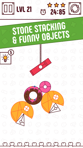Find The Balance - Physical Funny Objects Puzzle