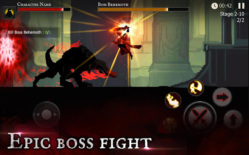 Shadow of Death: Dark Knight - Stickman Fighting (inédit)