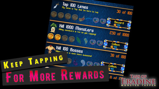 Taps of Eradine RPG Monster Clicker Idler