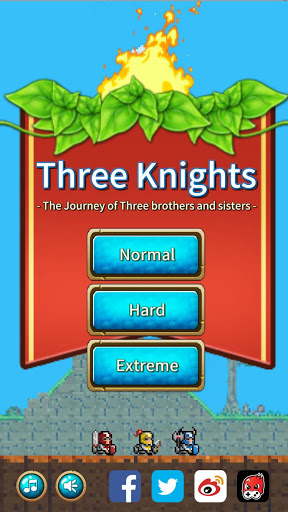 Three Knights : Three heroes
