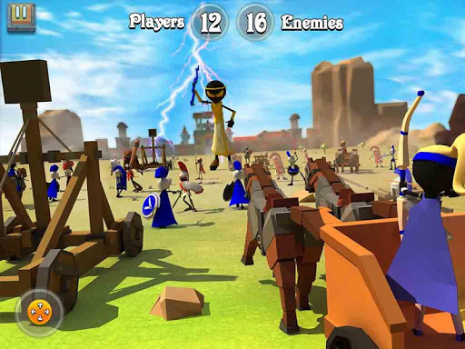 Greek Warriors : Castle Defence