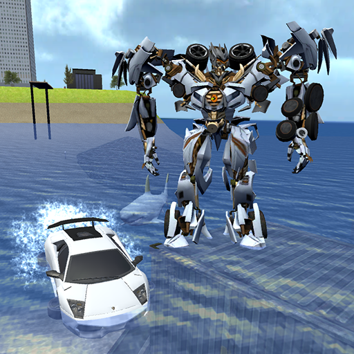X Robot Car: Shark Water