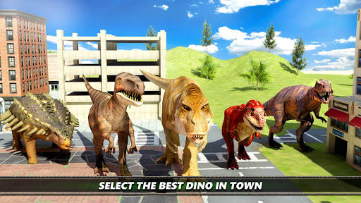 Dinosaur Simulation 2017- Dino City Hunting