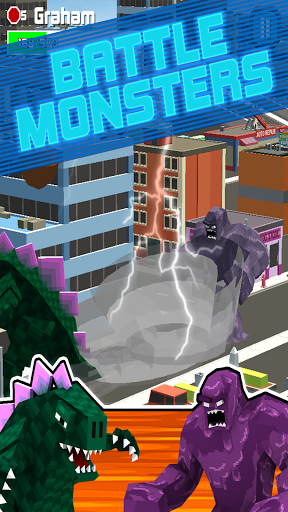 Smashy City: Monster Battles