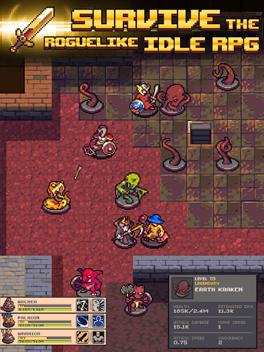 Idle Sword 2: Incremental Dungeon Crawling RPG (Unreleased)