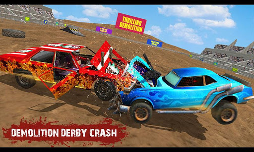 Demolition Derby Real Car Wars